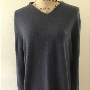 Theory Cashmere dark gray sweater med